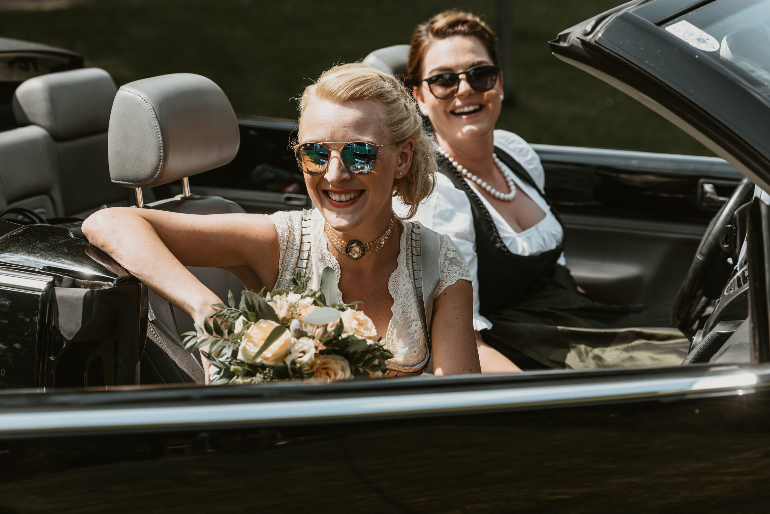 die Ankunft der Braut