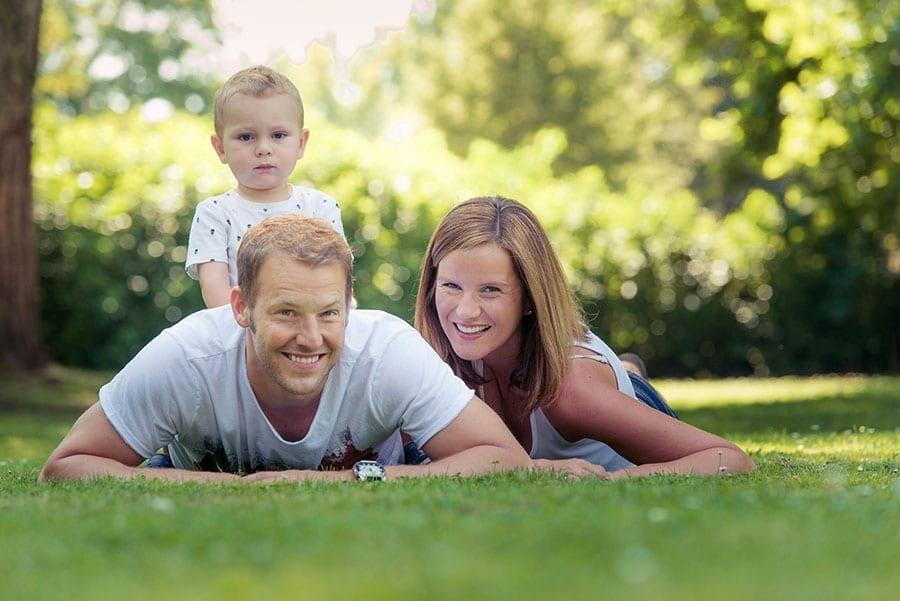 Familien Fotoshooting in Kärnten