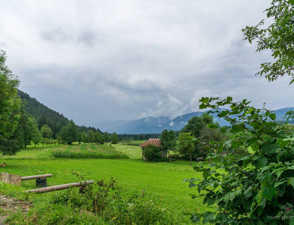 Alpe Adria Trail -Rundtouretappe 2 Warmbad Villach – Nötsch