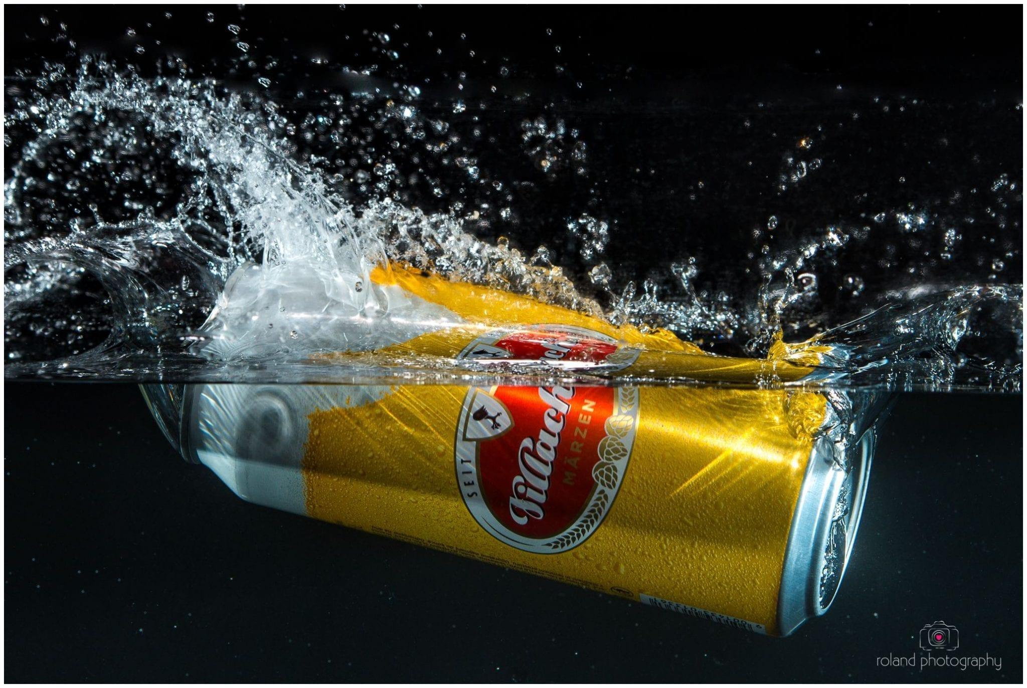 Produktfotografie - Villacher Bier