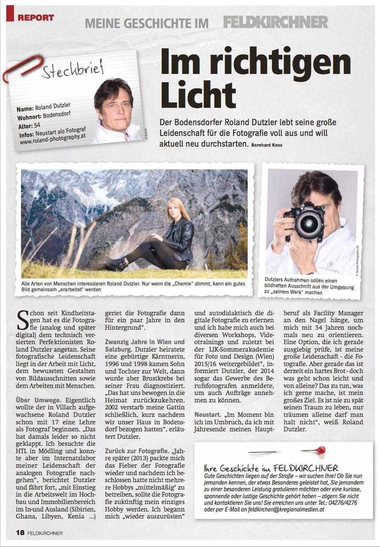 Feldkirchner Meine Geschichte