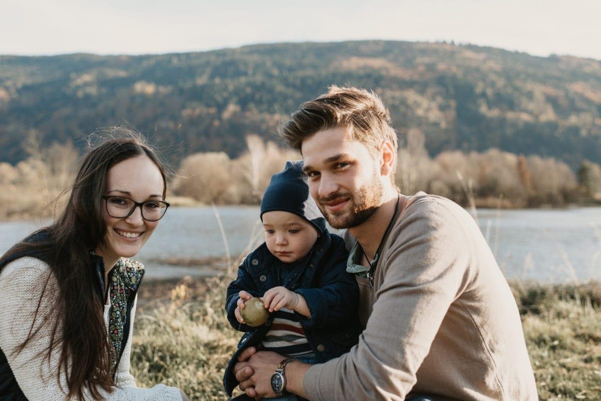 Fotograf aus Kärnten mit Familie Schützenhofer