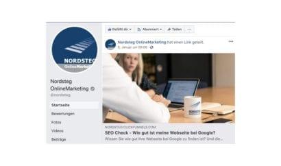 Nordsteg Postingbeitrag