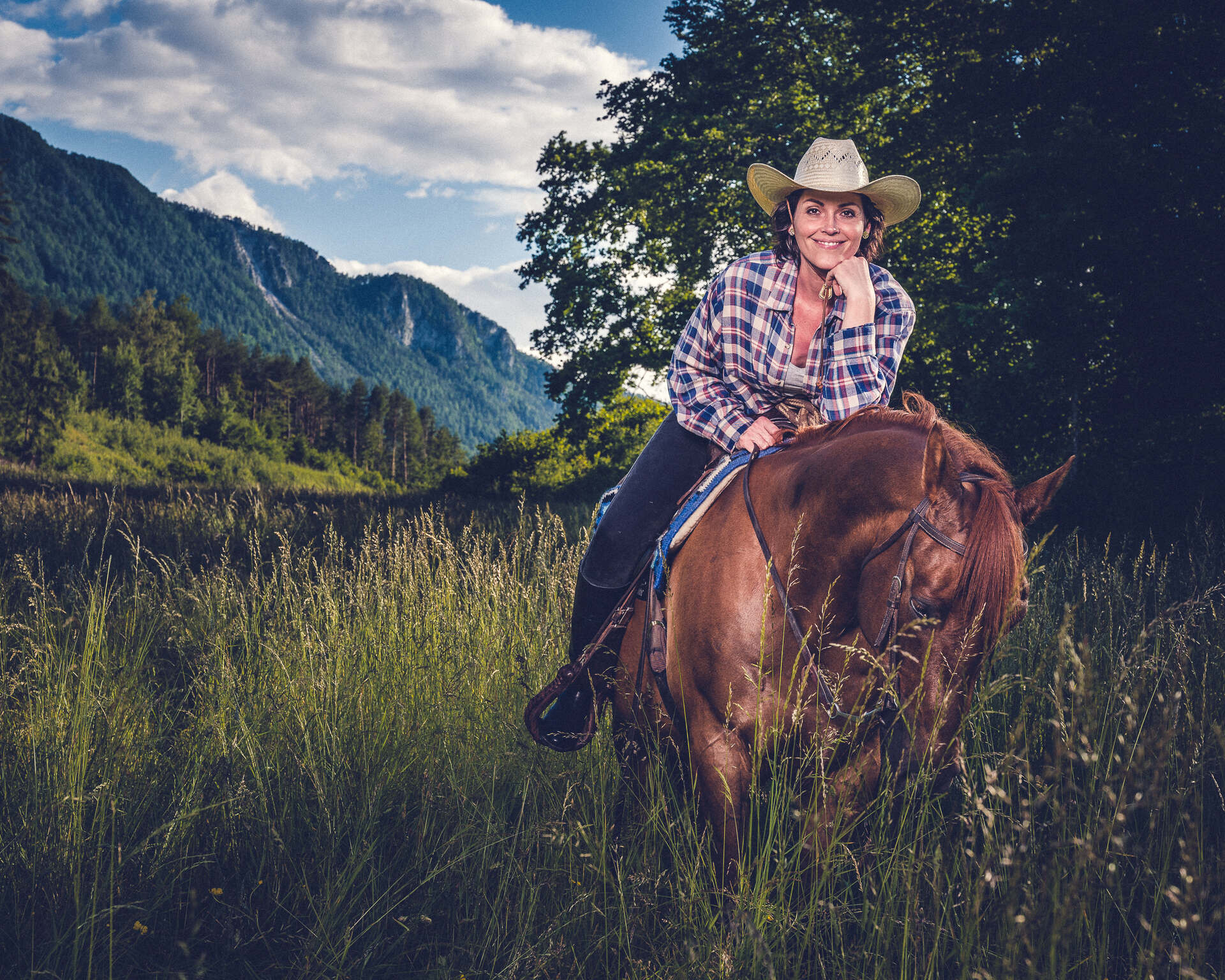 Nadja Tschinder Pferdeshooting