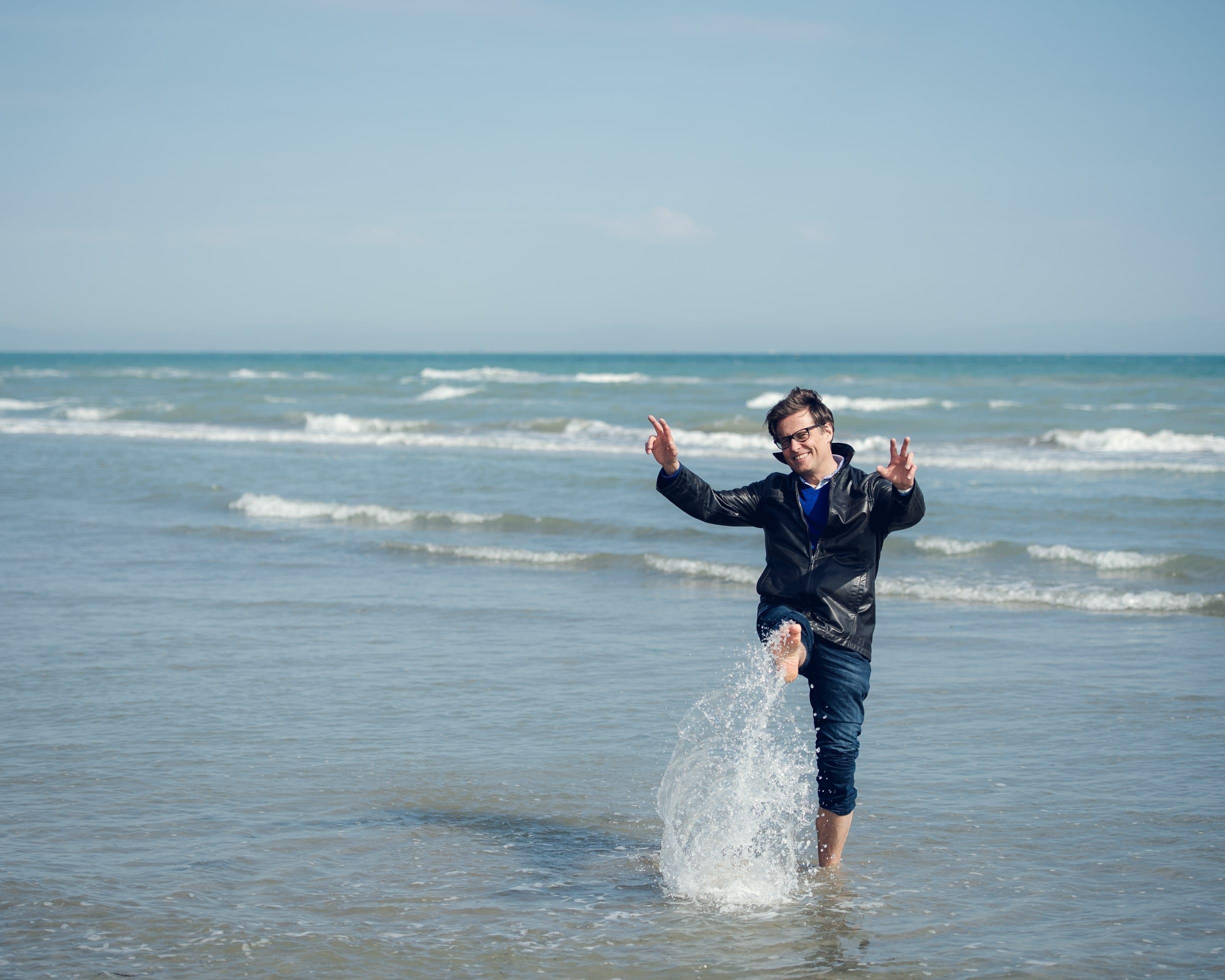 Roland Dutzler in Lignano am Meer